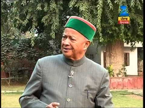 BEBAK VIRBHADRA SINGH WITH DINESH SHARMA, EDITOR ZEE MEDIA. FULL INTERVIEW