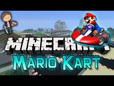 Minecraft: Mario Kart Mini-Game w/Mitch & Jerome! – 2MineCraft.com