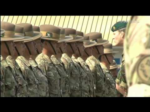Medal parade marks Gurkhas' end of tour 01.012.11