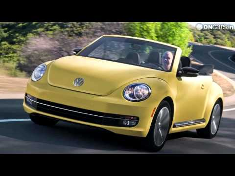 2012 LA Auto Show: VW Beetle Cabriolet launched; priced at Rs 16 lakh onwards