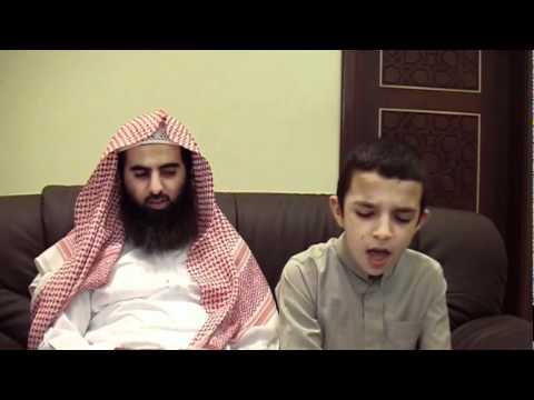 An Australian Boy Reciting Quran In Presence Of Sheikh Luhaidan video