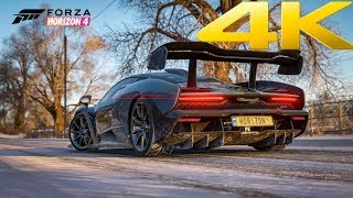 Forza Horizon 4 Trailer and a 4K Gameplay Demo | XBOX ONE X 4K 2160P Direct Feed Capture | E3 2018