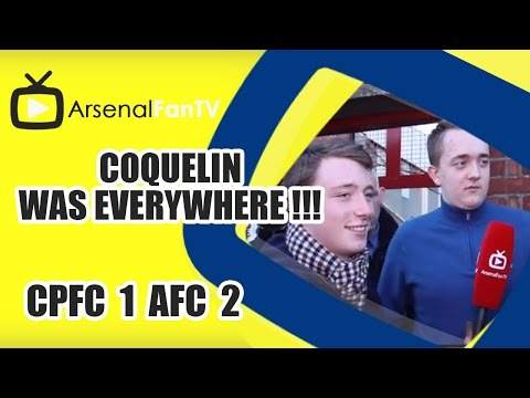 Coquelin Was Everywhere !!! - Crystal Palace 1 Arsenal 2