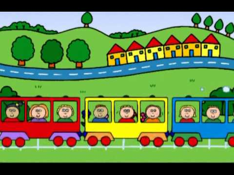 Teddy's Train  песни на английском для детей