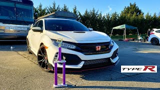 Honda Civic Type R 1st Place Auto x   This Car is Amazing!