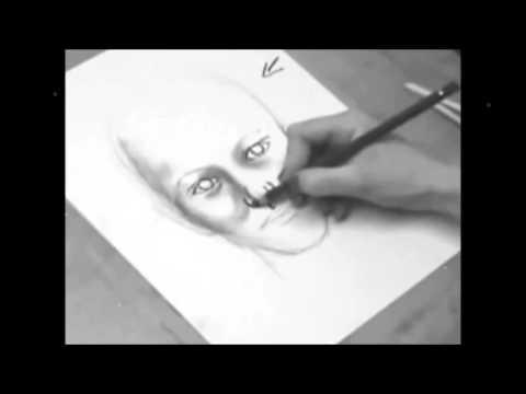 كيفية رسم الوجه تعلم كيفية رسم الوجه بالرصاص خطوة بخطوة أسهل طريقة لرسم الوجه