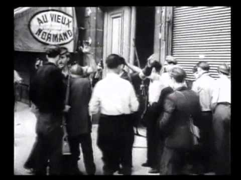 French Resistance Archive Footage Paris Partisans SOE Charles Bovill