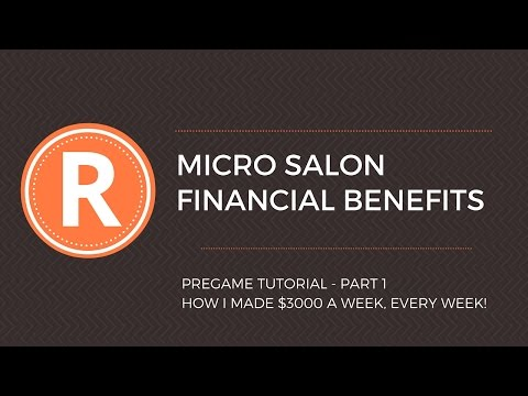 Financial Benefits Of Operating Your Very Own Rent A Chair Salon In Australia