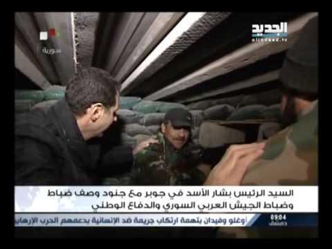 الاسد في جوبر بين الجنود -عنان زلزلي