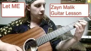 Download Lagu Let Me - Zayn | Simple Guitar Lesson Gratis STAFABAND