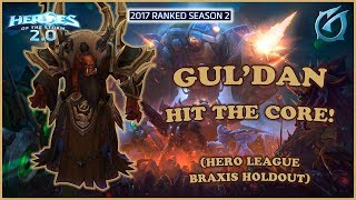 Grubby | Heroes of the Storm 2.0 - Gul'dan - Hit The Core - HL 2017 S2 - Braxis Holdout