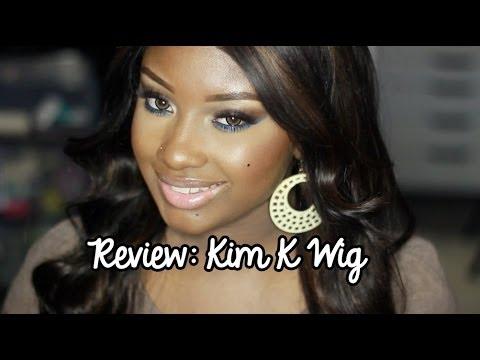 RPGshow Kim Kardashian Inspired Glueless Full Lace Wig   CLW045-s