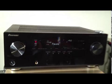 Pioneer vsx-921 A/V Receiver DLNA XP