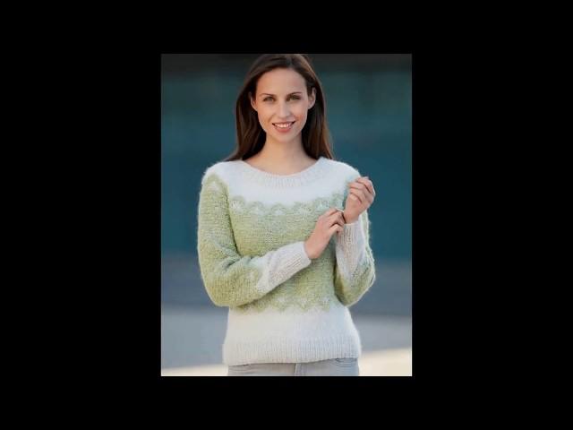 Модели вязания.Пуловеры и кардиганы   на осень-зима  2018 из Франции
