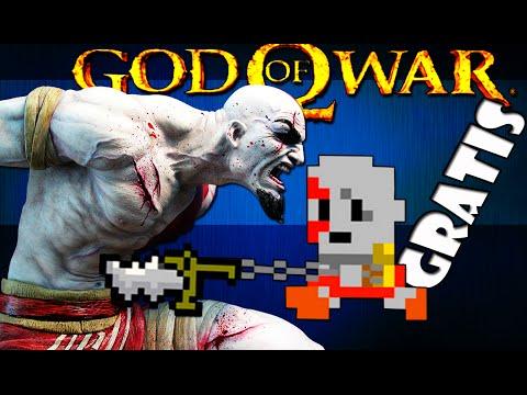 God Of War 8 Bit Sensacional - Grátis video