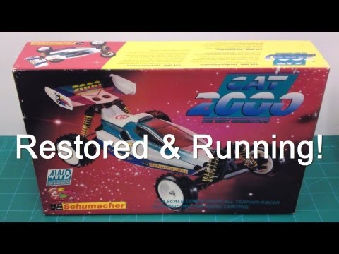 4WheelRCUK - Vintage Schumacher CAT2000 Restored & Running!