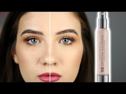 Urban Decay OPTICAL ILLUSION Blurring Primer   Review and Demo