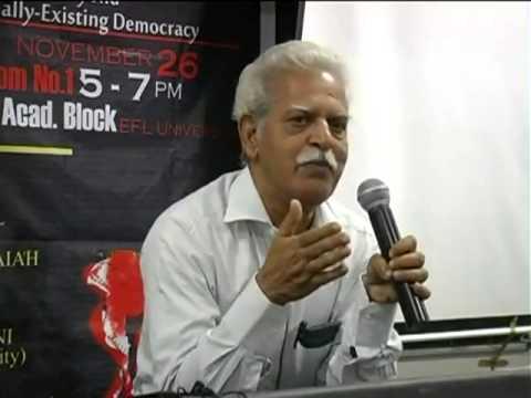 Varavara Rao on Kashmir, Indian Federation & Global Imperialism