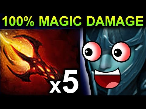 DAGON PHANTOM ASSASSIN DOTA 2 PATCH 7.06 NEW META FUNNY GAMEPLAY
