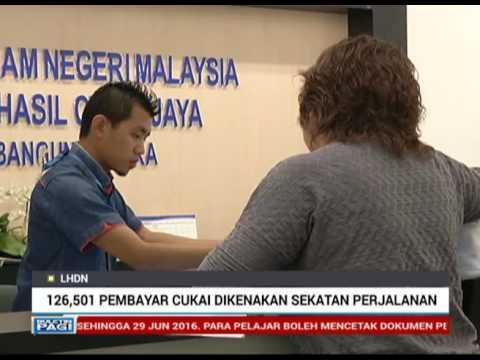 Kadar cukai pendapatan individu di malaysia