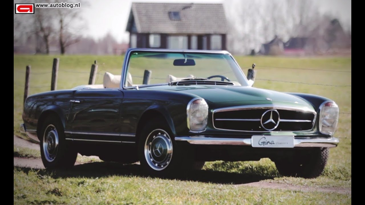 Mercedes Benz 280 Sl Pagode Classic Review Youtube
