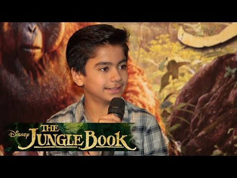The Jungle Book 2016 Hindi Trailer Launch | Neel Sethi As Mowgli
