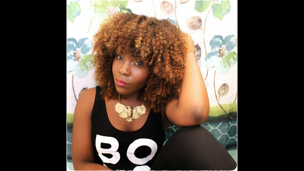 Installing The Afro Kinky Curly Diva Youtube