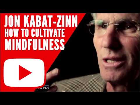 JON KABAT-ZINN (Wherever You Go, There You Are): How To Cultivate Mindfulness