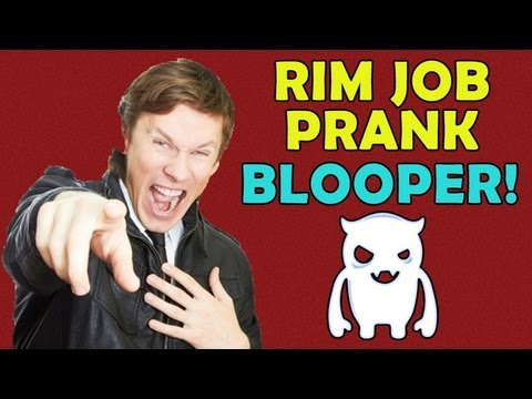 Rim Job Prank Blooper