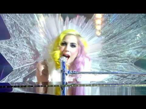Lady GaGa - Brown Eyes (Live on Jonathan Ross) [HD] Music Videos