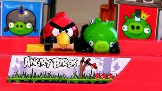 Angry Birds Hot Wheels Slingshot Launch Track Red Minion Green Piggy Disney Pixar Cars Does NOT work