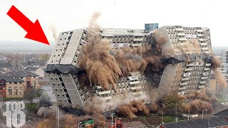10 Building Collapses Caught On Camera