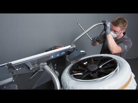 Reparatur zerkratzter (glanzgedrehter) Alufelgen: mit dem WheelDoctor wie neu
