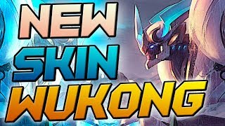 NOVA SKIN WUKONG LANCEIRO GAMEPLAY  - LEAGUE OF LEGENDS