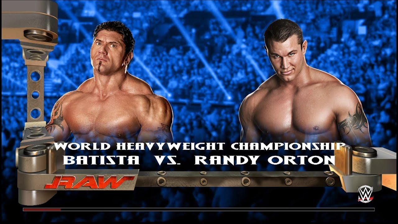 Wwe 2k15 Randy Orton Retro Wwe 2k15 Retro Batista vs