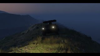 Grand Theft Auto V (PS4): SAM APC vs. Lazer - Rockstar Editor Test Clip