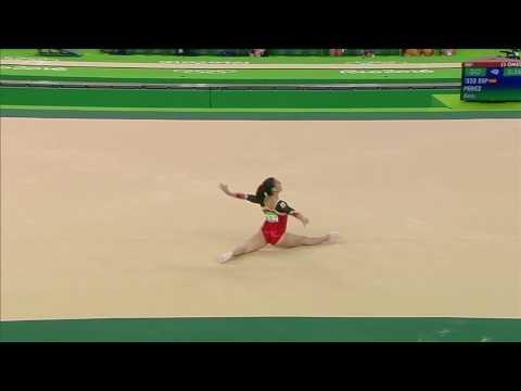 Ana Perez 2016 Olympics QF FX