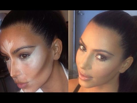 CONTOUR AND HIGHLIGHT LIKE KIM KARDASHIAN - STEP BY STEP Image 1