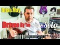 Driven By You Brian May Guitar Solo Lesson Guitar Tab mp3