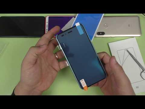Клею оригинальную защитную пленку Сяоми на Xiaomi Mi A1 / Mi 5x ► ИДЕАЛЬНО!