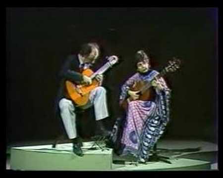 I. Albeniz: Cadiz - Evangelos&Liza ( Liza Zoe - Evangelos Assimakopoulos)