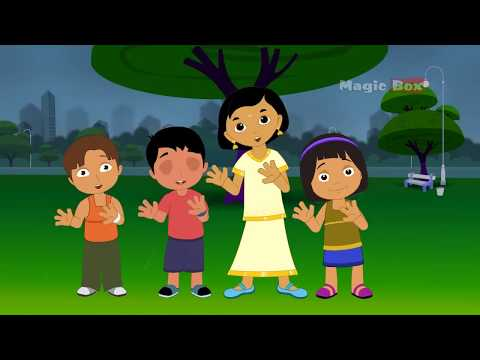 Mazha - Malayalam Cartoon Nursery Rhymes - Kingini Chellam video