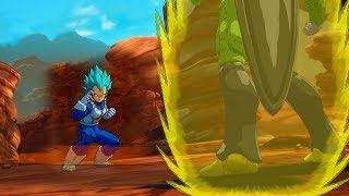 Cell Meets SSGSS Vegeta and Frieza Lives for Resurrection F Rematch Dragon Ball FighterZ