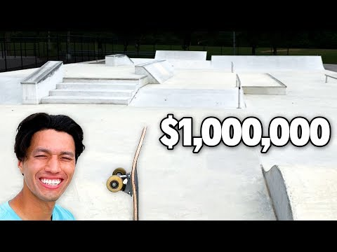This MODERN NYC Skatepark Only Costs $1 Million Dollars