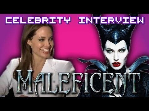 Angelina Jolie talks about scaring children on the set of Maleficent