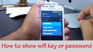 Download How To Show WiFi Key or Password 3Gp Mp4