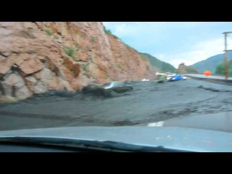 Colorado Mudslide Flash flood US Highway 24
