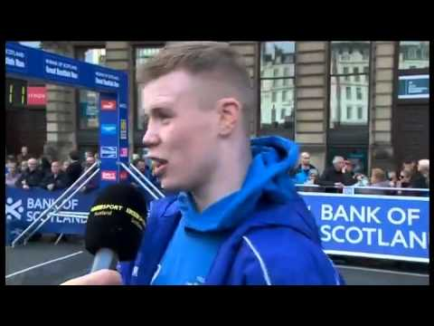 Charlie Flynn - Great Scottish Run Interview - Glasgow 10k