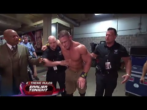 WWE - JOHN CENA WALKS AWAY FROM INJURY! NOT INJURED! WWE EXTREME RULES POST SHOW!