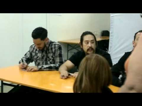 Meet & Greet with Linkin Park @ Sonisphere, Imola